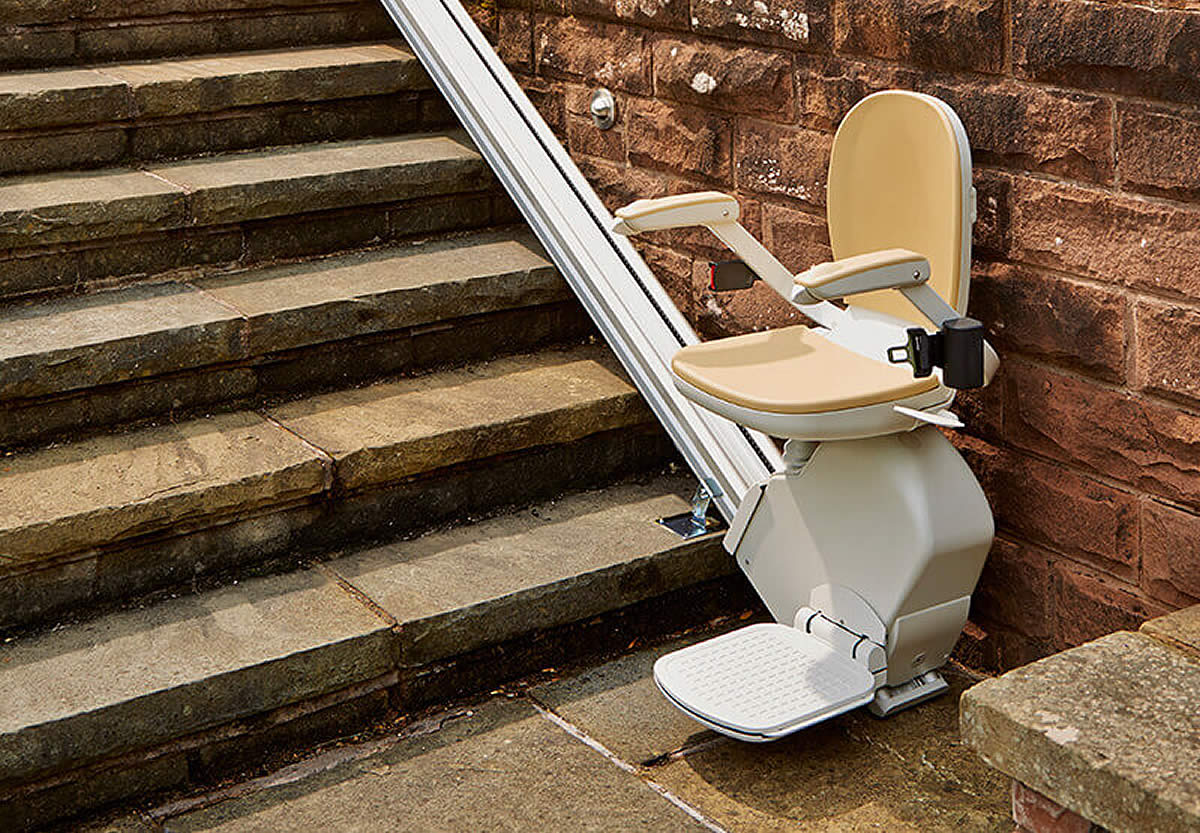 Outdoor Stairlifts Costs Installation Acorn. Outdoor Stairlifts Costs Installation. Wiring. Wiring Diagram Electric Stair Lift Chairs At Scoala.co